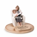 Mom With Son Devoted Sculpture - Christian Home Decor