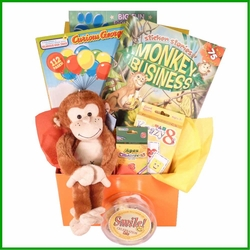 Monkeying Around Kids Gift Box