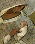 Mother And Child (Silver) by J. Kirk Richards - 2 Sizes Available
