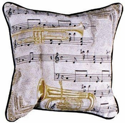 Music to My Ears Pillow