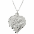 My Beautiful Child™ Heart Necklace by Susan Howard - 14K Gold