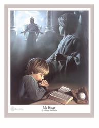 My Prayer by Danny Hahlbohm - 5 Unframed Options