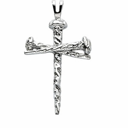Nail Design Cross Pendant - 5 Options Available
