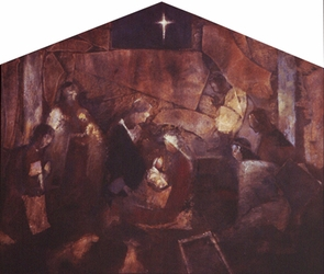 Nativity by J. Kirk Richards - 2 Selections Available