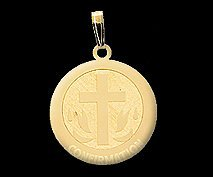 Nickel Sized Confirmation Medal