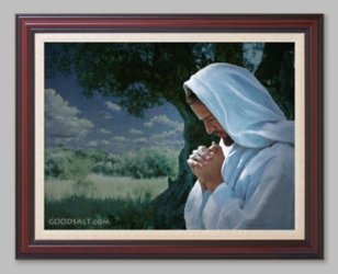 Night Prayer - 6 Framed & Unframed Options