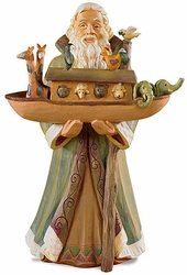 Noah with Ark Figurine - 2 Per Package