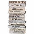 Nuestra Familia, Our Family Spanish Home Decor