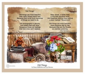 Old Things by Danny Hahlbohm - Unframed Christian Art