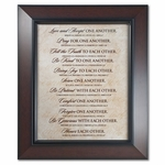 One Another Word Study Home Decor