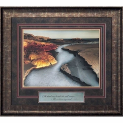 Water Light - Framed Christian Art