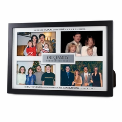 Our Family Through The Years Multi-Photo Frame