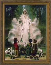 Our Lady of Fatima - 3 Unframed Options - Christian Art