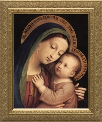 Our Lady of Good Counsel by Pasquale Sarullo - 5 Framed Options