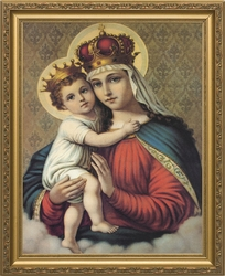 Our Lady of Good Remedy - 4 Framed Options - Christian Art