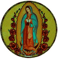 Our Lady of Guadalupe Stained Glass Art
