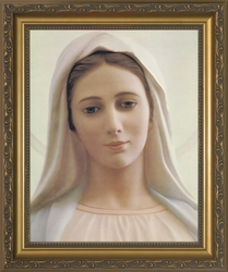 Our Lady of Medjugorje - 4 Framed Options - Christian Art