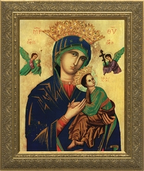 Our Lady of Perpetual Help - 4 Framed Options - Christian Art