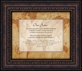 Our Pastor Framed Appreciation Gift - Christian Home & Wall Decor