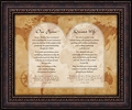 Our Pastor & Pastor's Wife Appreciation Gift - Christian Wall Art