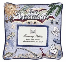 Our Vacation Memory Pillow