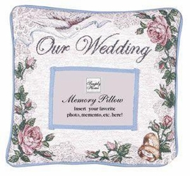 Our Wedding Memory Pillow