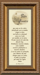 Padre Nuestro Framed Spanish Religious Gift - 5 Frames Available
