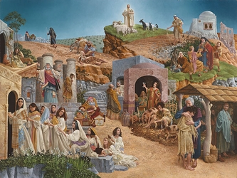 Parables by James C. Christensen - 2 Options Available