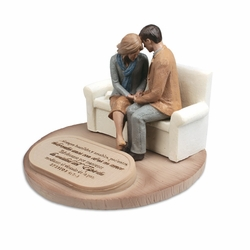 Pareja Orando (Praying Couple) Spanish Sculpture