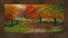 Path Through the Maples by Charles White - 6 Framed & Unframed Options