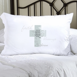 Personalized Angel of God Pillow Case