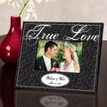 Personalized Black True Love Picture Frame