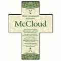 Personalized Classic Irish Cross Blessing 1 - Old Irish Blessing 1