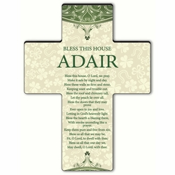 Personalized Classic Irish Cross Blessing 8 - Bless This House
