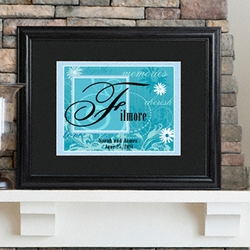 Personalized Couple's Name Sign