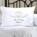 Personalized Cross My Heart Pillow Case