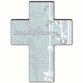 Personalized Faith and Flower Cross Prayer 1 - Guardian Angel