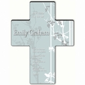 Personalized Faith and Flower Cross Prayer 2 - Hear My Prayer