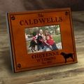 Personalized Labrador Picture Frame