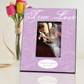 Personalized Lavender True Love Picture Frame