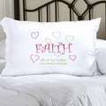 Personalized Lighthearted Faith Pillow Case