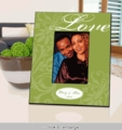 Personalized Love Picture Frame - Green