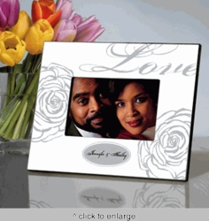 Personalized Love Picture Frame - White