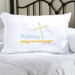 Personalized Pastel Grace Pillow Case