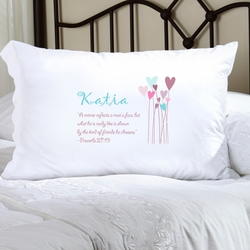 Personalized Proverbs Pillow Case