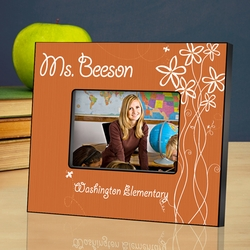 Personalized Teacher Picture Frame - Breath of Spring