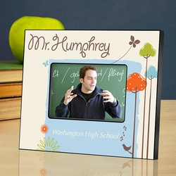 Personalized Teacher Picture Frame - Nature's Song