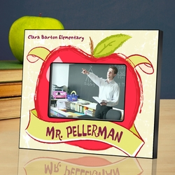 Personalized Teacher Picture Frame - The Big Apple