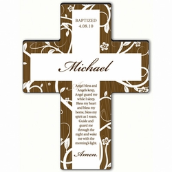 Personalized Tree of Life Cross Prayer 5 - Angel Bedtime Blessing