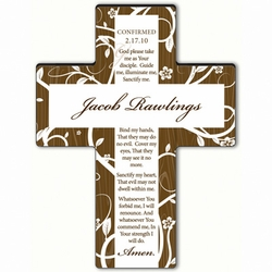 Personalized Tree of Life Cross Prayer 8 - Confirmation Prayer